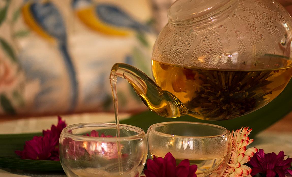 Thé fleuri